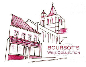 Boursot's Wine Collection shop in Ardres near Calais, France. Good French wines at low French prices