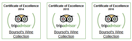 Trip Adviser Certificate of Excellence 2014 2015 and 2016
